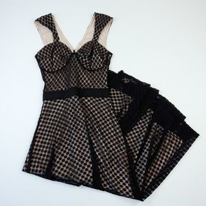 Bettie Page Lace Swing Dress